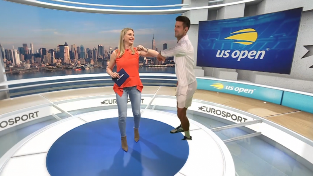 tenis holograma usa open